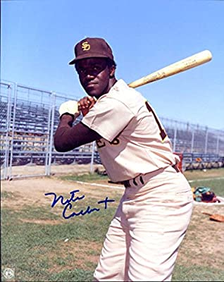 Nate Colbert Autographed/ Original Signed 8x10 Color Photo Showing Him w/ the San Diego Padres - He Was a 3x All-Star With the Padres