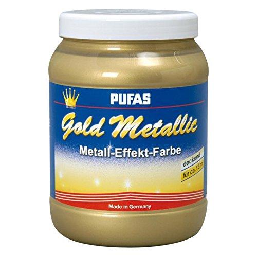 Gold Metallic Effect Metall-Effekt-Farbe 1,5 L goldener deckender Effekt