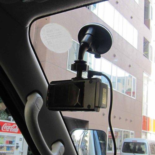 ドアパンチ対策防犯ビデオカメラ2個セット(シガーアダプター分配器付き):USDR931S