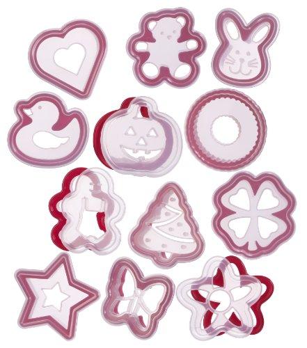progressive-bwc-57max-stampini-per-biscotti-confezione-da-24-pezzi