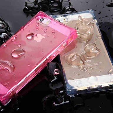 Limme Unique Crystal Clear Ice Cube With Led Flashing Designed Tpu Case For Iphone 6 Plus (Assorted Colors) , Green