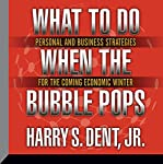 What to Do When the Bubble Pops: Personal and Business Strategies for the Coming Economic Winter | Harry S. Dent Jr.