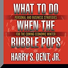 What to Do When the Bubble Pops: Personal and Business Strategies for the Coming Economic Winter  by Harry S. Dent Jr. Narrated by Harry S. Dent Jr.
