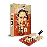 #10: Music Card: Asha Bhosle - 320 Kbps MP3 Audio (4 GB)