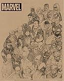 マーベルコミック/MARVEL COMICS《Rough Heroes》ミニポスター☆アメコミキャラクターグッズ通販☆