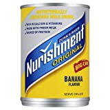 Dunns River Nurishment Original Big Can Banana Flavour 12 x 400gram