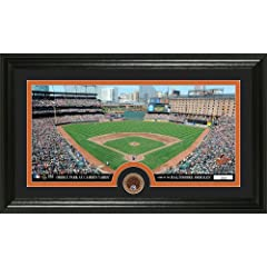 MLB Baltimore Orioles Infield Dirt Coin Panoramic Mint Photo by Bullion International