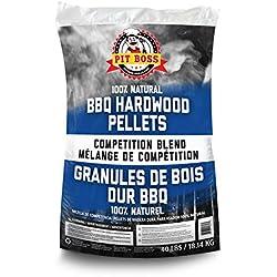 Pit Boss BBQ Wood Pellets, 40 lb., Competition Blend