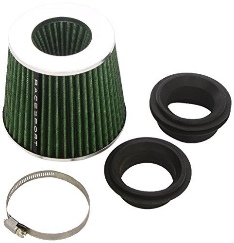 Sumex Airstgr Race Sport - Filtro Aria Stream-Verde Con Adattatori, 60-65-70-77 mm