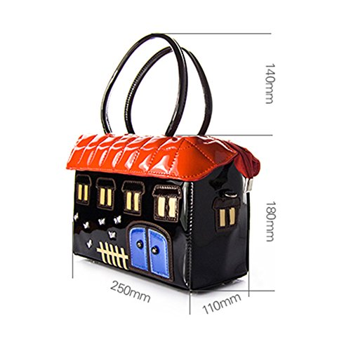 LadyHouse Manual Candy House Cute Female Squares Shoulder Bag