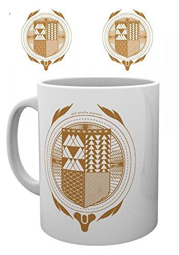 Destiny - Guardian Crest Tazza Da Caffè Mug (9 x 8cm)