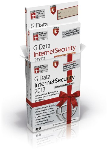 "G Data InternetSecurity 2013 ""Geschenkbox"" (2. Version zu verschenken), PC"