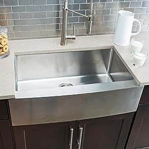 Hahn Farmhouse Large Single Bowl Sink - - Amazon.com