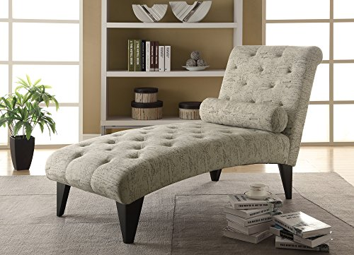 Monarch Vintage French Fabric Chaise Lounger 0