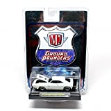 1969 Dodge Charger Daytona (White) M2 Machines Ground Pounders Release 4 2010 Castline... by M2 Machines