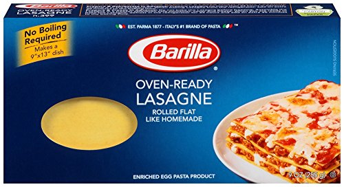 Barilla Pasta Oven-Ready Lasagne, 9 Ounce (Pack of 12) (Lasagne Pasta compare prices)