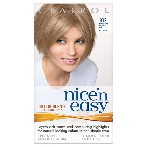 Clairol Nice'n'Easy Hair Colourant 102 Natural Light Ash Blonde