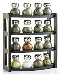 Martha Stewart Collection 17-Piece Space Saver Spice Rack