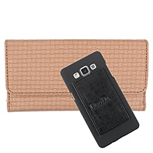 DooDa PU Leather Wallet Flip Case Cover With Card & ID Slots For Nokia Lumia 430 Dual Sim