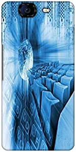 Snoogg Abstract Internet Background Designer Protective Back Case Cover For Micromax Canvas Knight A350
