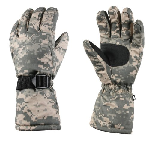 Rothco Deluxe Thermoblock Insulated Gloves, ACU, Small