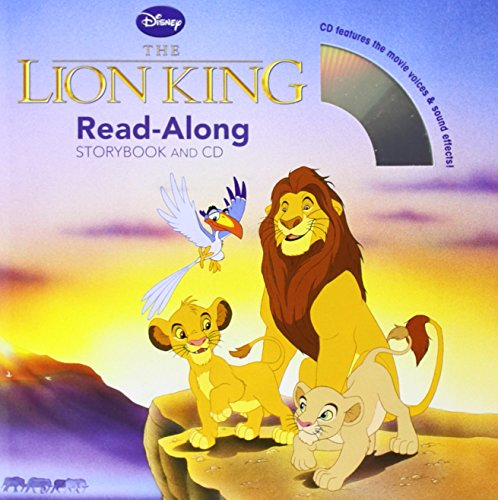 The Lion King Read-Along Storybook and CD - Disney Book Group