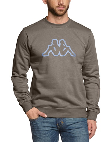 Kappa-Felpa Paggo, Unisex, Sweatshirt Paggo, Frassino scuro, S