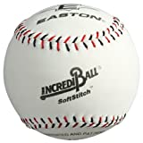 Easton Softstitch Incrediball Softball, White, 9-inch