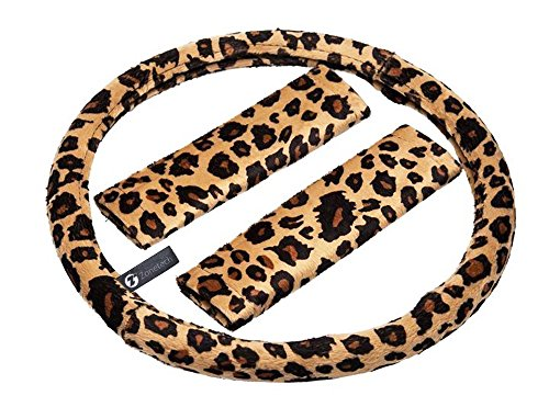 zone-tech-plush-velour-shaded-cheetah-vehicle-steering-wheel-cover-soft-feel-animal-print-universal-