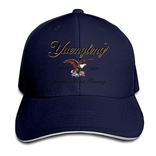 pro-style-yuengling-premium-beer-sandwich-peak-hats-adults-cap-navy
