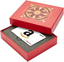 Amazon.in Red Gift Card Box - Rs.1000, White Card