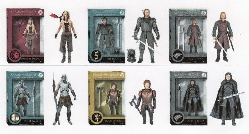 Funko Legacy Collection Game Of Thrones Set of 6 GOT