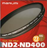 Marumi 77mm 77 DHG Vari ND ND2 to ND400 400 Neutral Density Fader Filter Japan Digital High Grade