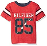 Tommy Hilfiger Boys Little Aron Tee, Apple Red, 3