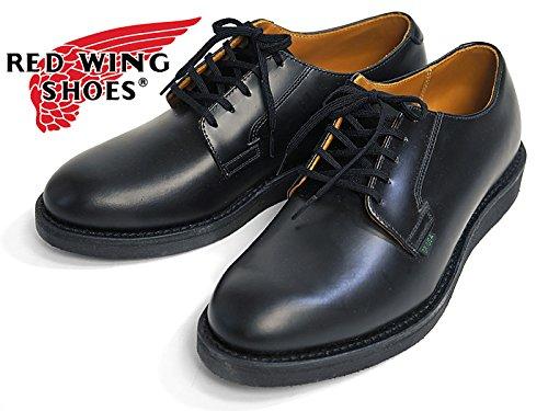 [レッドウィング] REDWING #101 オックスフォードシューズ ポストマン ブラック 10.5inch/28.5cm