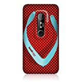 Head Case Polka Flops Design Snap-on Glossy Hard Back Case Cover For HTC EVO 3D