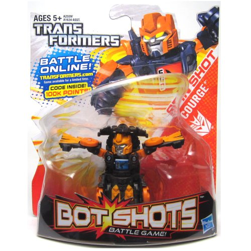 Transformers, Bot Shots Series 2 Figure, Spin Shot Scourge - 1
