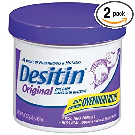 Desitin Original Ointment, 16-Ounce Jars