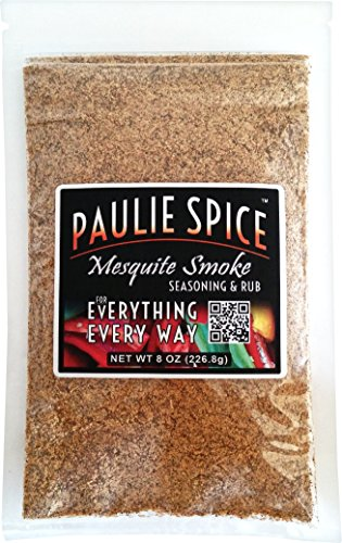 Paulie Spice : Sweet Mesquite Smoke BBQ Seasoning and Rub For: Steak, Ribs, Meat, Pork, Chicken, Wings, Salmon, Beef, Prime, Fish, Seafood, Grill, Barbecue, Smoked, Dry Rubs, Seasonings, Spices, 8 oz (Smoked Chicken compare prices)