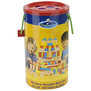 Imaginarium 150 Piece Wooden Block Set