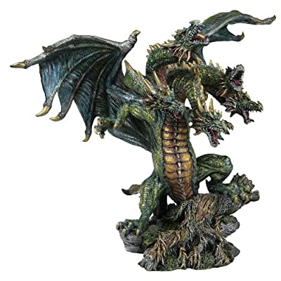 Amazon.com - Lysander Five Headed Dragon Figurine