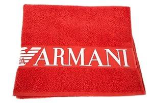 emporio armani drap de plage serviette homme rouge amazon. Black Bedroom Furniture Sets. Home Design Ideas