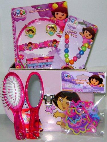 Cheap Jossy's New Dora the Explorer Pink Tin Box + Accessories (B004K3ULD4)