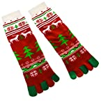 Reindeer Toe Socks
