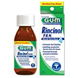 GUM Rincinol P.R.N. Mouth Sore Rinse Mouth Sore Relief #1770, 4 Ounce