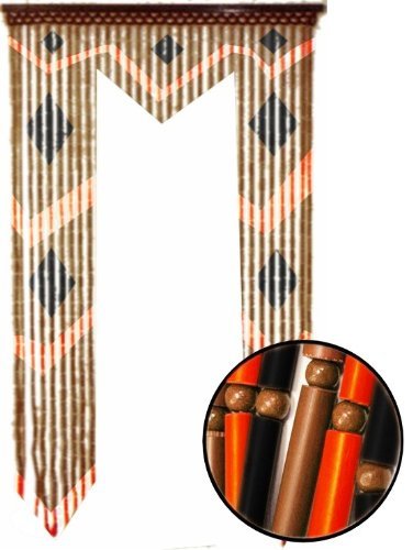 Beaded Curtains Bamboo Gate Way Door Beads 6407