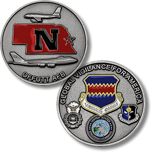Offutt Air Force Base -- Global Vigilance Challenge Coin - 1