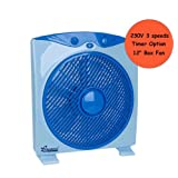 Box Fan 12inch 230-Volt Box Fan