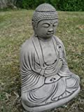 Indian buddha stone garden ornament