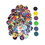 POG Milk Cap and Slammers Game POGS Milkcap Assortment - 206 Pc